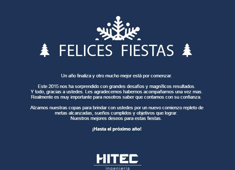 ¡ Felices Fiestas !