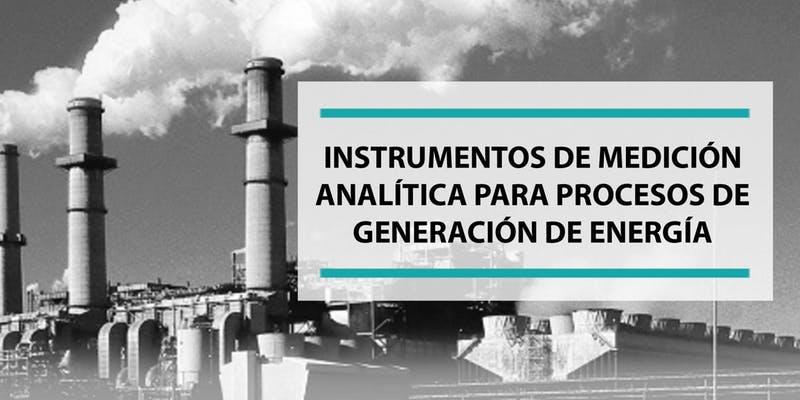 Nuevo webinario: Instrumentos de medición analítica
