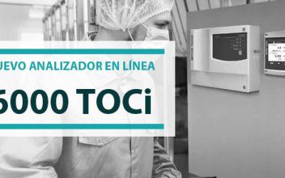 Demuestre el cumplimiento normativo de su sistema de agua con el nuevo analizador en línea 6000TOCi.